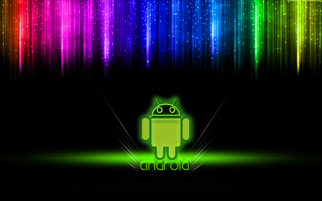 Colorful Android Animation