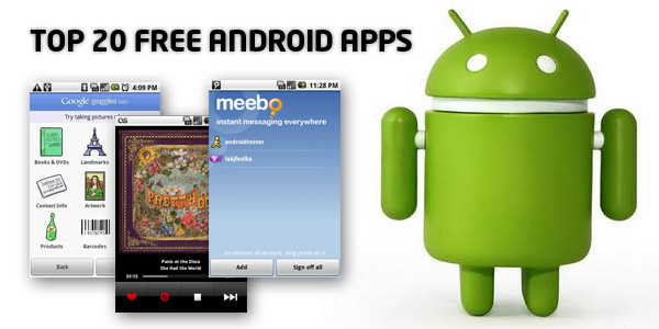 Great Android Applications Free