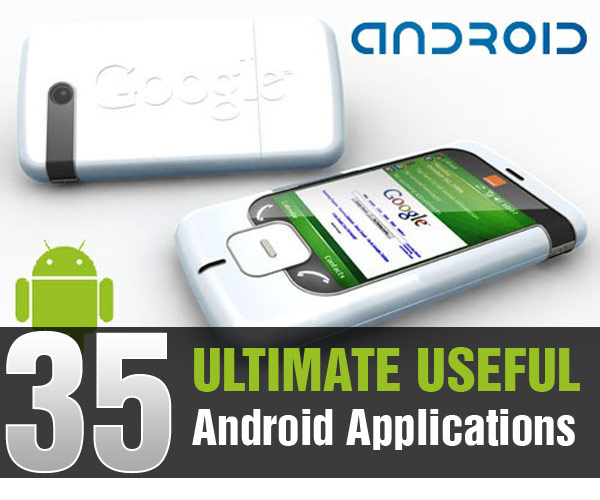 35 Android Applications List