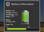 Indicator for Android Battery