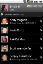 Check this Android Contacts