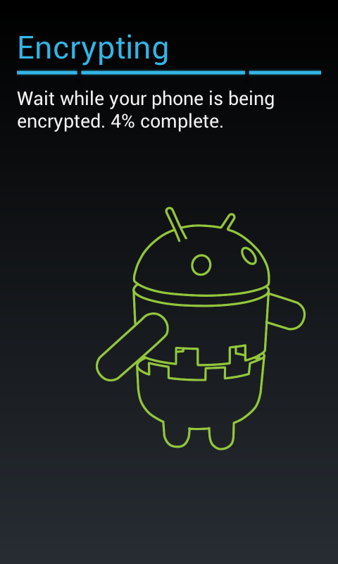 Progress of Android Encryption