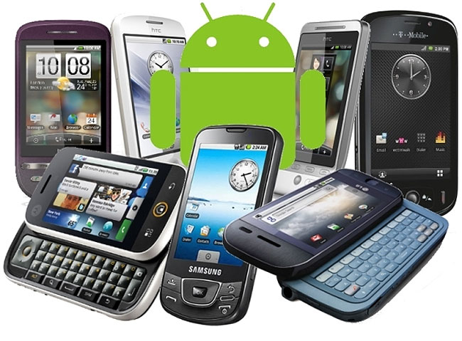 Many Android Handset