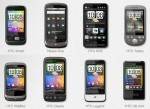 Various Android Handsets
