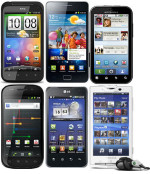 Various Android Handys
