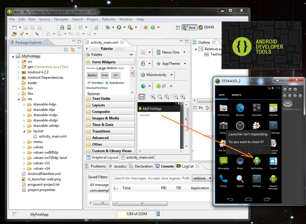 Advanced Android Ide