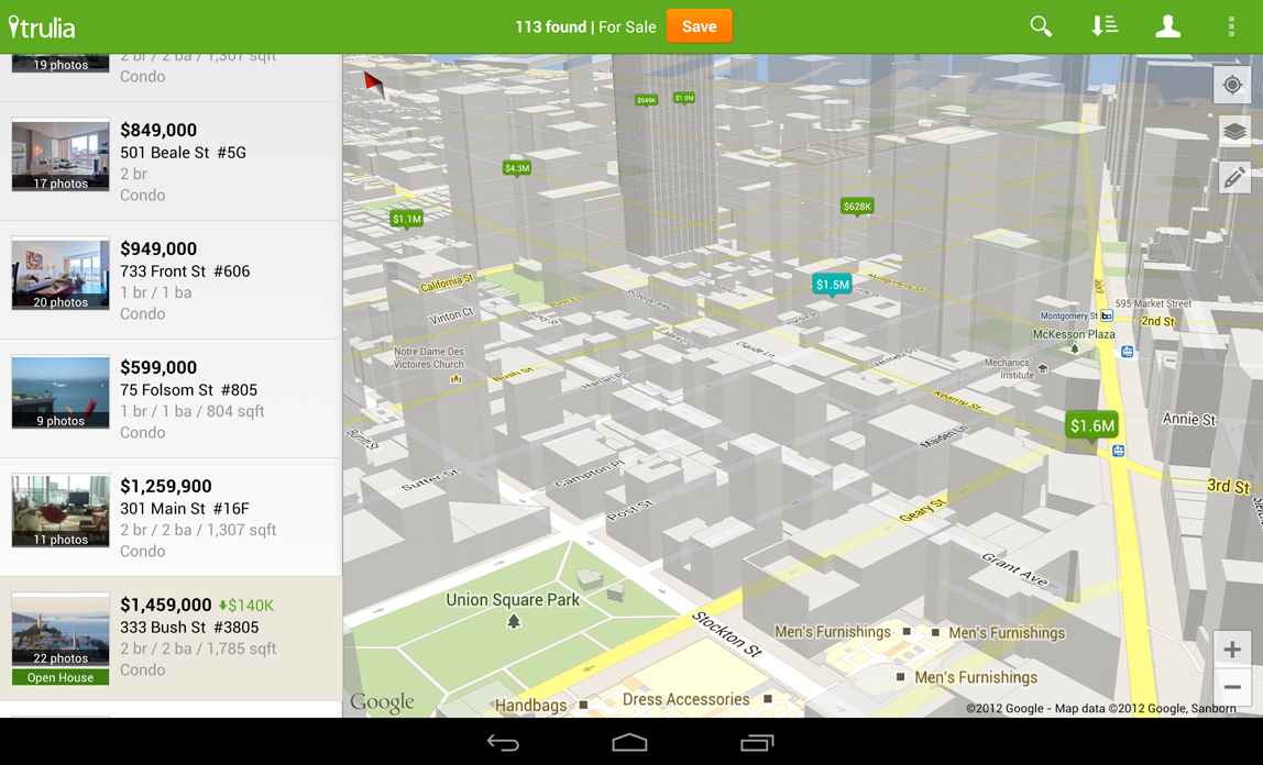 3d Android Maps