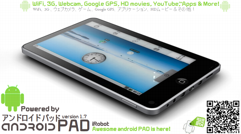 Delicate Android Pad