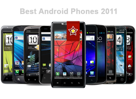 Some Android Phones 2011