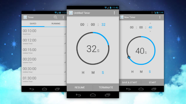 Modern Android Timer