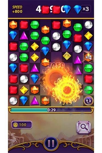 Advanced Bejeweled Android