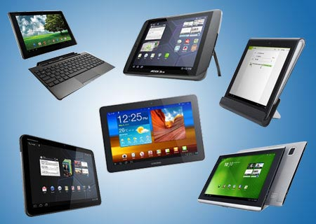 Six Best Android Tablets