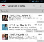 User Friendly Gmail Android