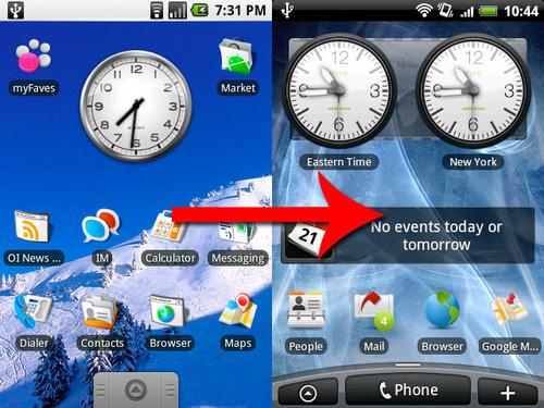 Difference of Jailbreak Android