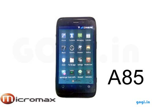 A85 Micromax Android