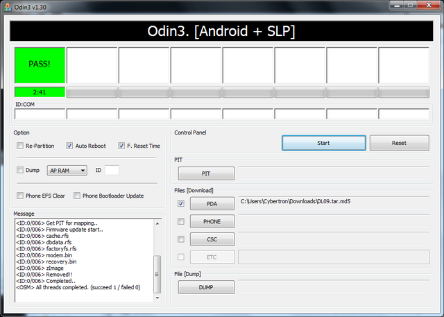 Useful Odin Android