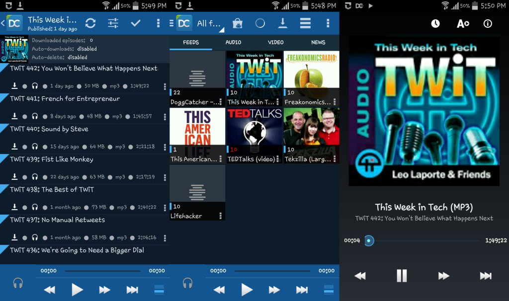 Get Podcast Android