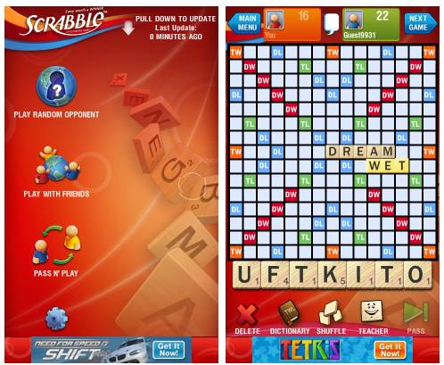 Fun Scrabble For Android